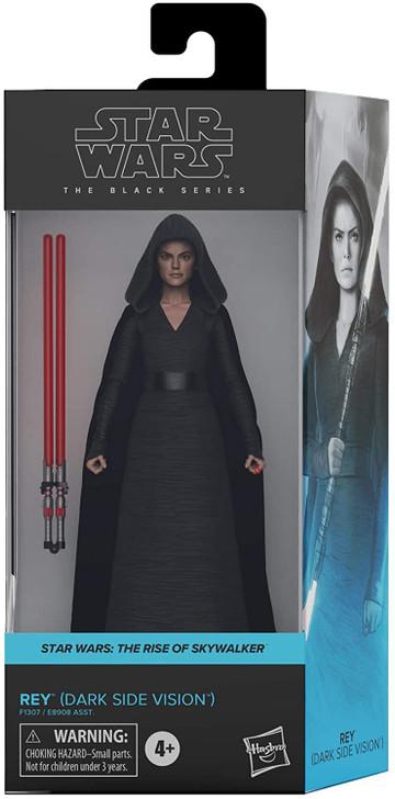 "Hasbro Star Wars Black Series Rey Dark Side Vision 6"" Action Figure"