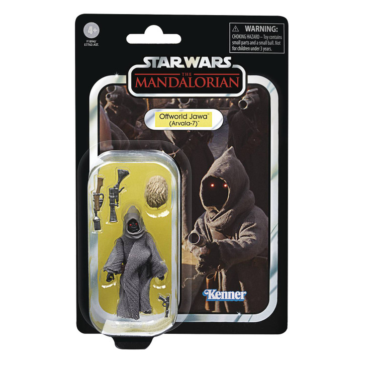 Hasbro Star Wars The Vintage Collection Offworld Jawa  action figure