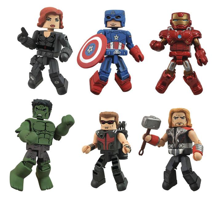 Diamond Select MiniMates Avengers SDCC 2021 Exclusive set