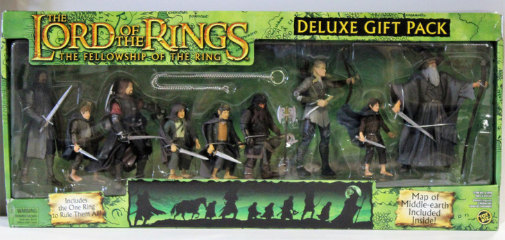 ToyBiz Lord of the Rings The Fellowship of the ring action figure Gift pack