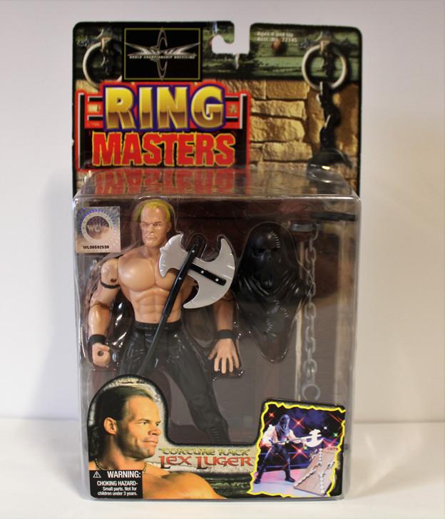 ToyBiz WCW Ring Masters Lex Luthor Torture Rack action figure
