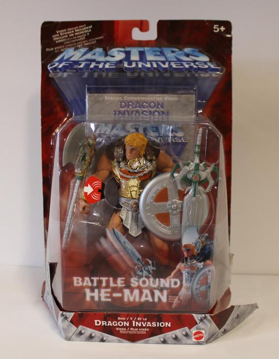 Mattel MOTU 200X Battle Sound He-Man Action Figure