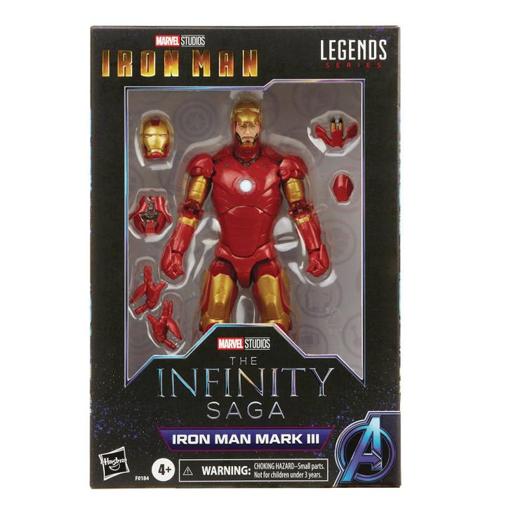 Hasbro Marvel Legends Saga Iron Man MK3 action figure