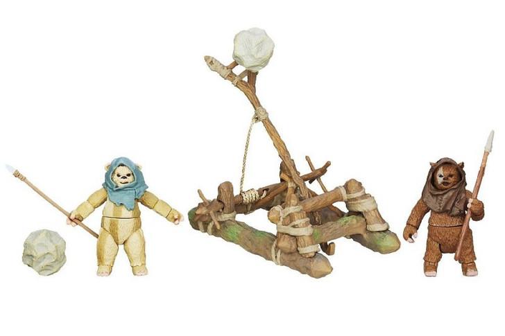 Hasbro Star Wars  Ewok Assault Catapult
