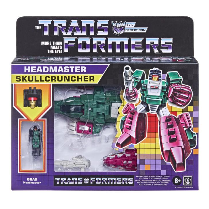 Hasbro Transformers Generations Deluxe Retro Headmaster Skullcrusher
