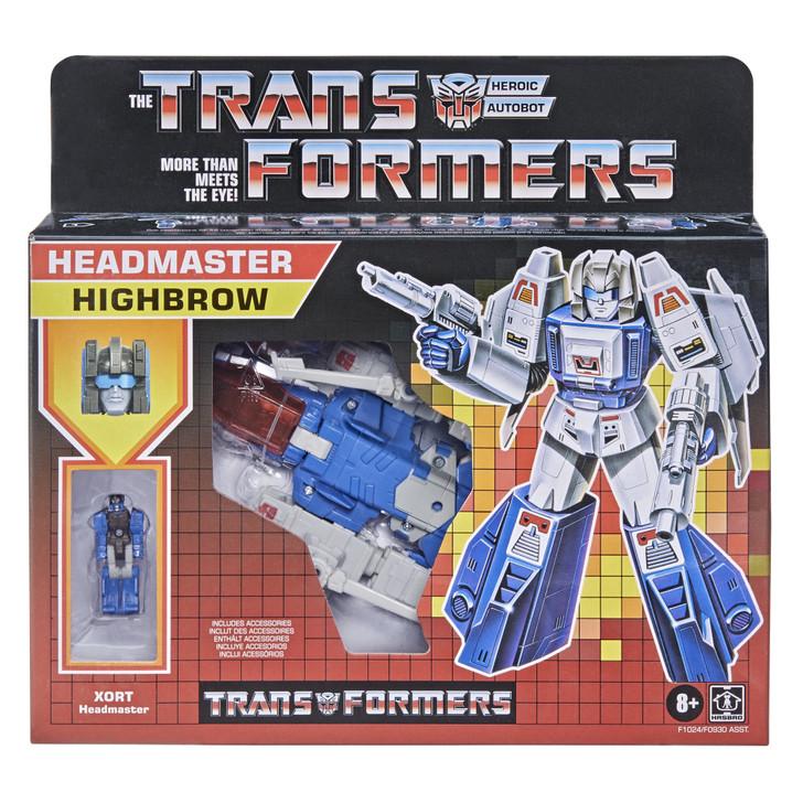 Hasbro Transformers Generations Deluxe Retro Headmaster Highbrow