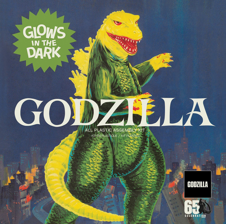 Godzilla King of the Monsters (Aurora Reissue) Model Kit with Glow parts