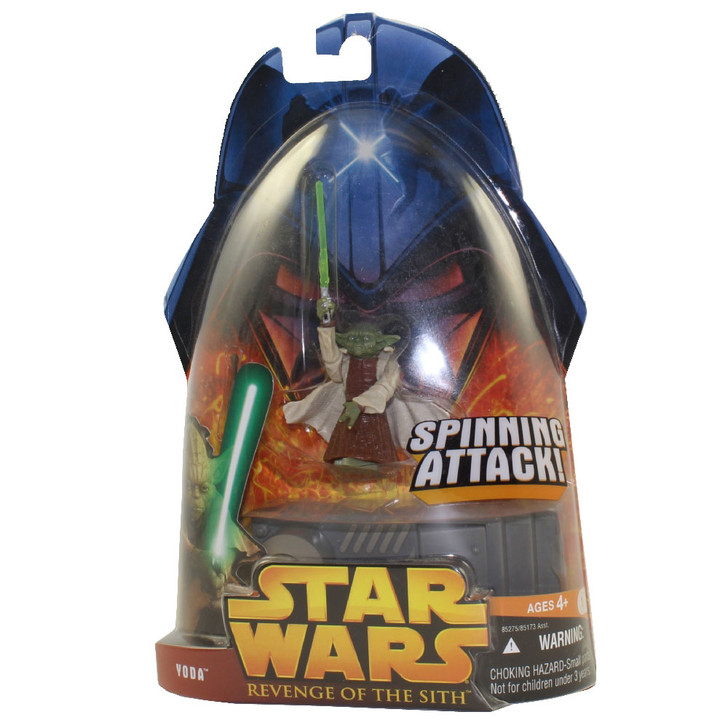 Hasbro Star Wars Revenge of the Yoda Spinning Attack Action Figure