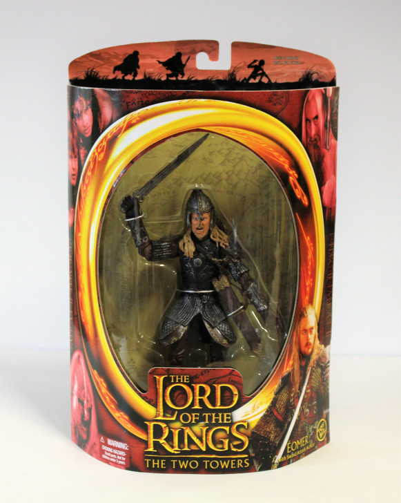 ToyBiz Lord of the Rings Eomer Sword Attack Action Action Figure