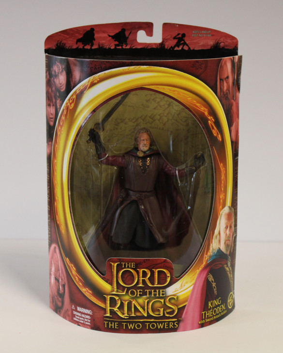ToyBiz Lord of the Rings King Theoden Sword Attack Action Figure