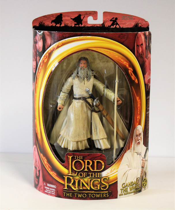 ToyBiz Lord of the Rings Gandalf the White Staff action Action Figure