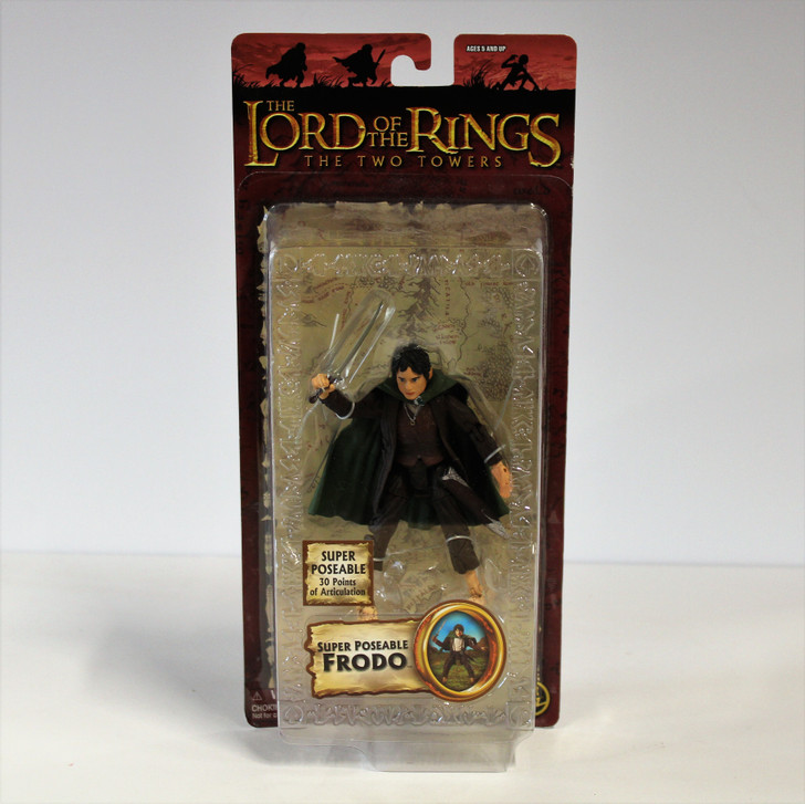 ToyBiz Lord of the Rings Super Poseable Frodo (2004) Action Figure