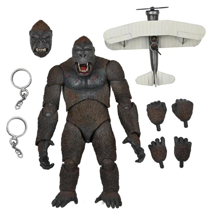 "NECA King Kong - 7"" Scale Action Figure - Ultimate King Kong (Concrete Jungle)"