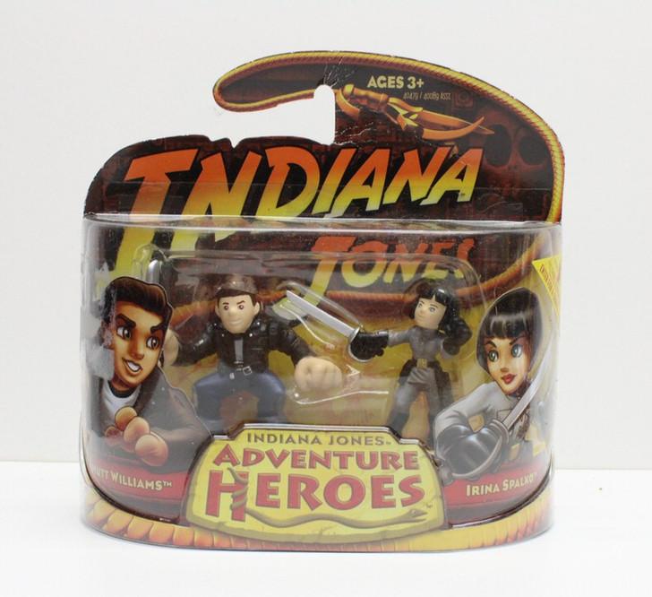 Hasbro Indiana Jones Adventure Heroes Mutt Williams and Irina Spalko