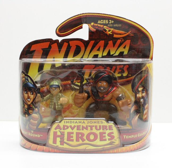 Hasbro Indiana Jones Adventure Heroes Short Round and Temple Guard