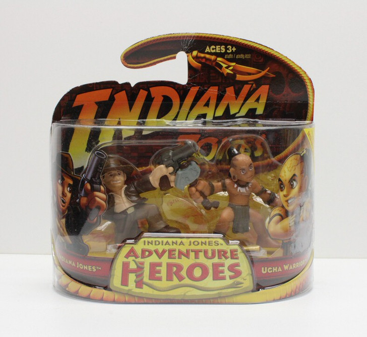 Hasbro Indiana Jones Adventure Heroes Indy and Ucha Warrior