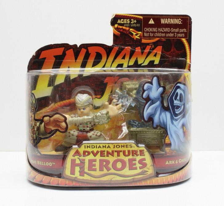 Hasbro Indiana Jones Adventure Heroes Rene Belloq and Ark Ghost