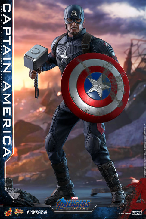 Hot Toys  Avengers: Endgame - Captain America Movie Masterpiece Series