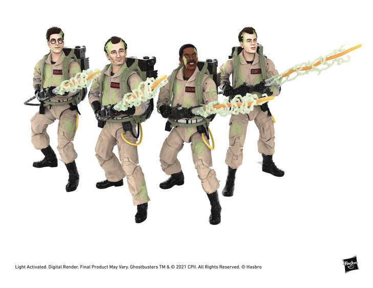 Hasbro Ghostbusters Plasma Series Set of Glow Action Figures