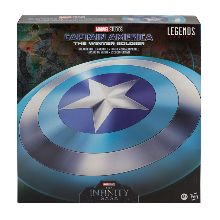 Hasbro Marvel Legends Gear Falcon and the Winter Soldier Captain America Stealth Shield