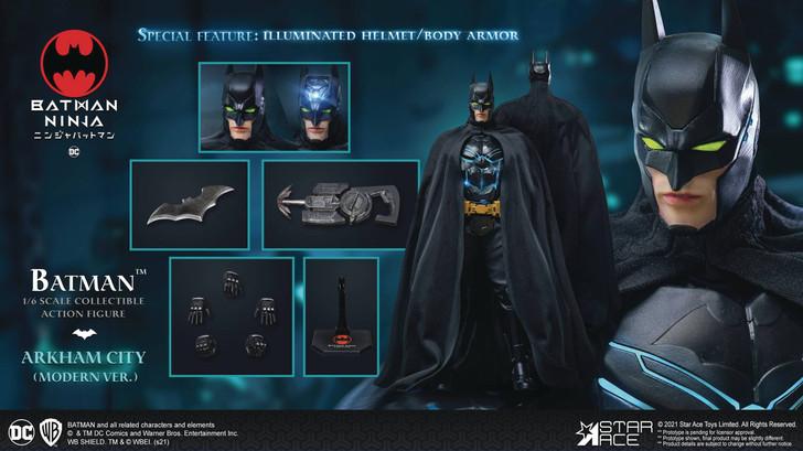 Star Ace Batman Ninja Modern Batman 1/6th scale action figure