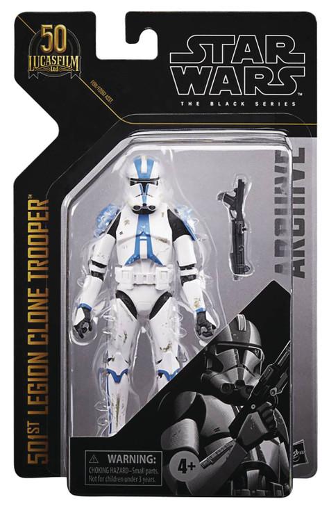 Hasbro Star Wars Black Series Archive 501st Clone Trooper Action Figure