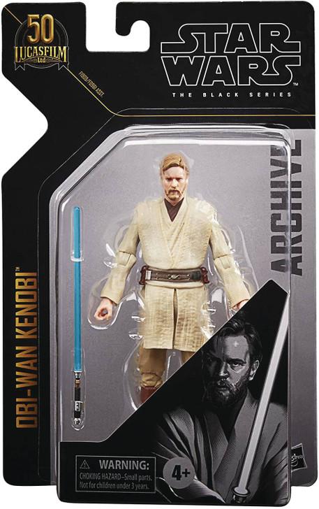Hasbro Star Wars Black Series Archive Obi-Wan Kenobi EP3 Action Figure
