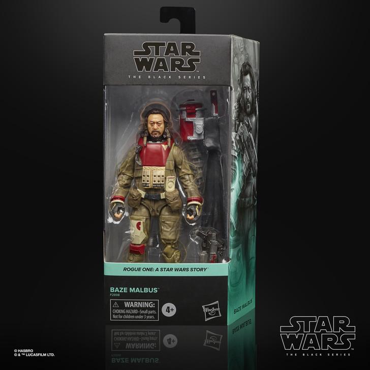 Hasbro Star Wars Black Series Baze Malbus Action Figure