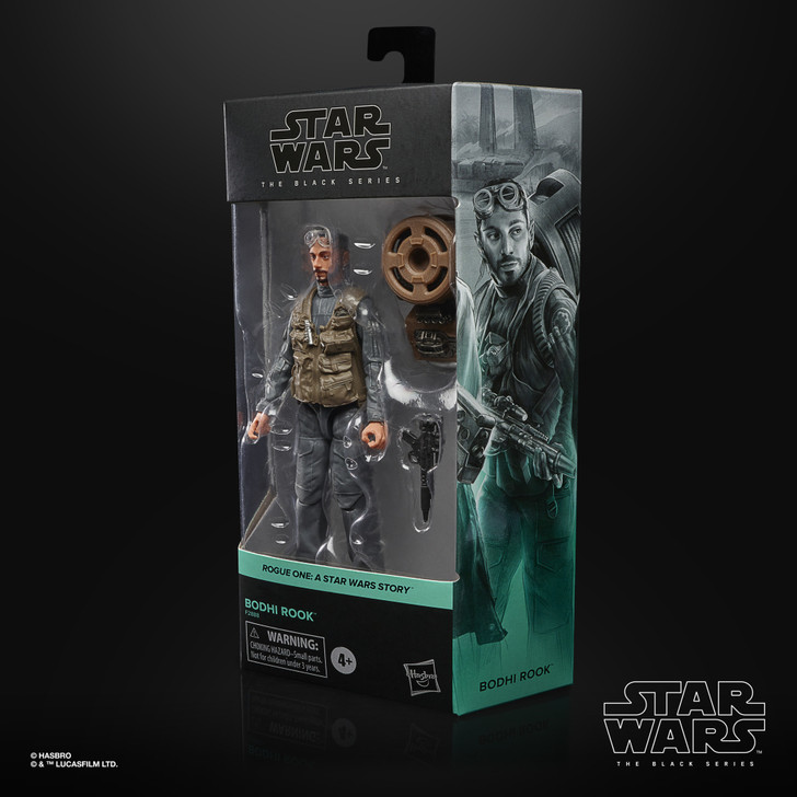 Hasbro Star Wars Black Series Bodhi Rook Action Figure