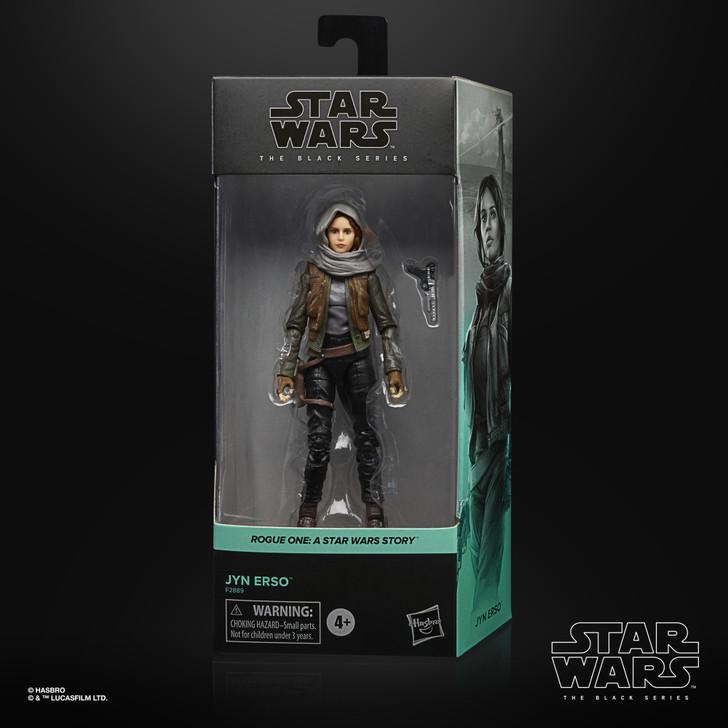 Hasbro Star Wars Black Series Jyn Erso Action Figure