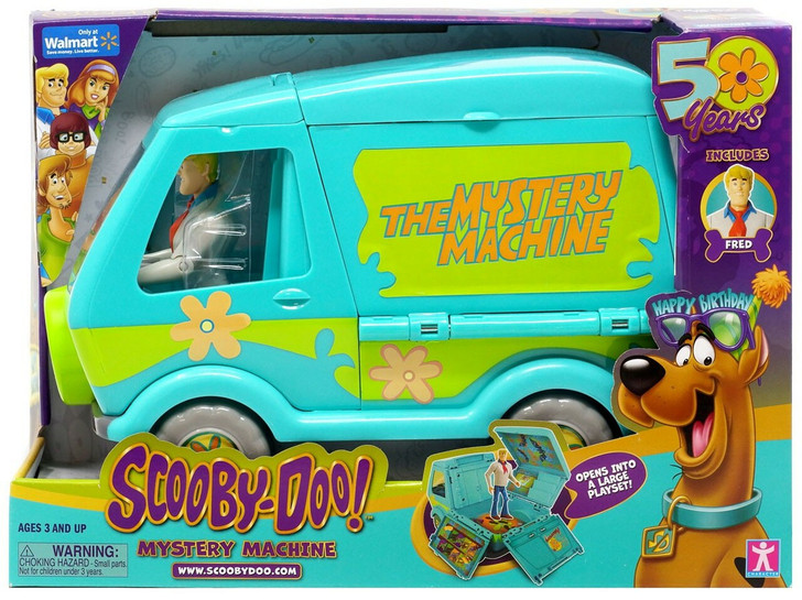Character Ltd. Scooby-Doo 50th anniversary Mystery Machine action figure set