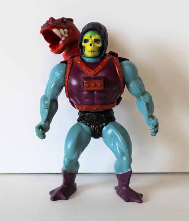 Mattel MOTU Skeletor Dragon Blaster Action Figure 1984  (No package)