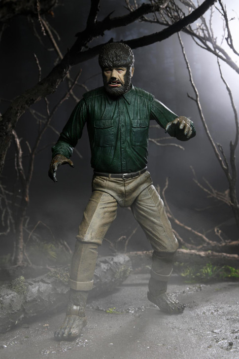 """NECA Universal Monsters - 7"""" Scale Action Figure - Ultimate Wolf Man"""