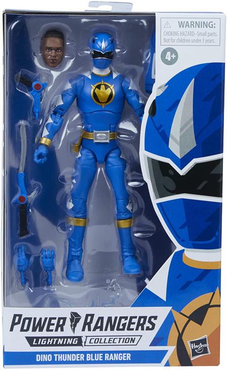 Hasbro Power Rangers Lightning Dino Thunder Blue Ranger 6in Action Figure