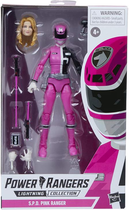 Hasbro Power Rangers Lightning S.P.D. Pink Ranger 6in Action Figure