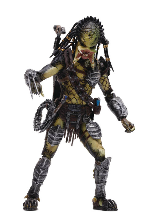 HIYA AVP Unmasked Wolf Predator 1/18 scale action figure