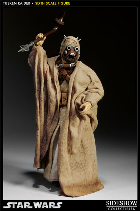 Star Wars Tusken Raider Sixth Scale Sideshow Figure
