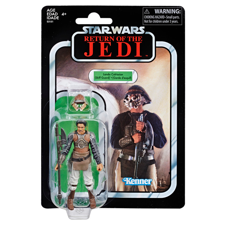 Hasbro Star Wars The Vintage Collection: Return of the Jedi Lando Calrissian Action Figure