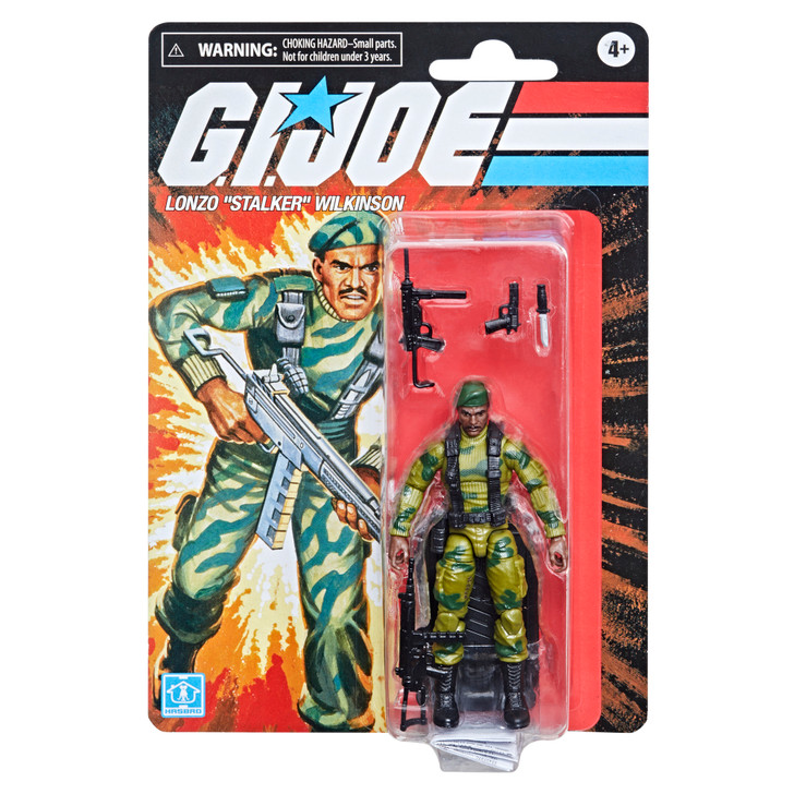 Hasbro G.I. Joe Retro Collection Stalker 3.75-Inch