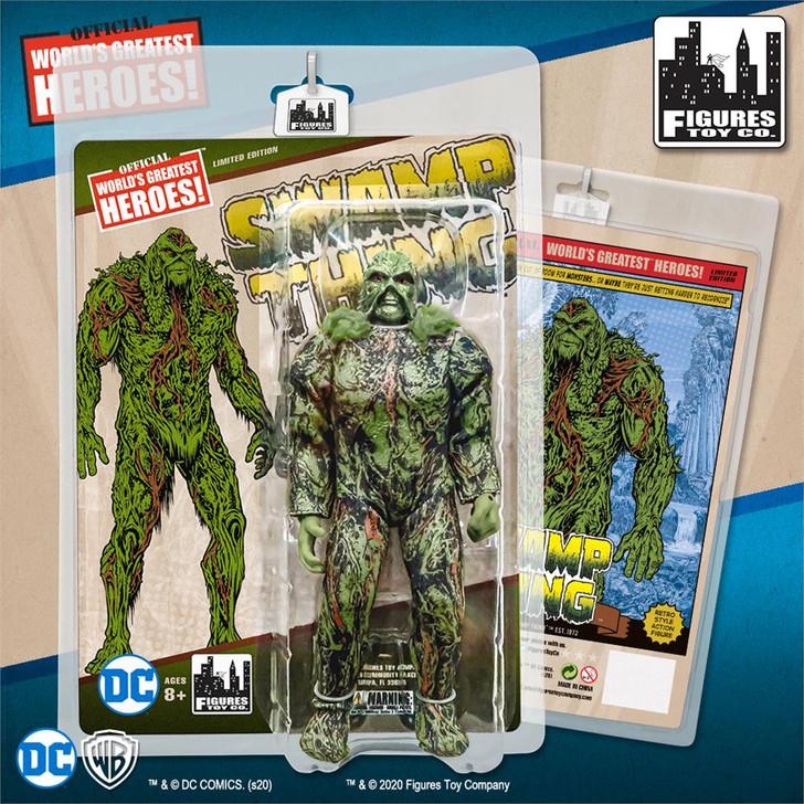 DC Comics Retro 8 Inch Action Figure Series: Swamp Thing