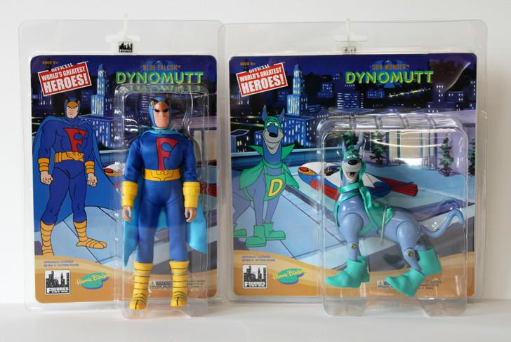 Dynomutt Retro Action Figures Series: Dynomutt and Blue Falcon Set