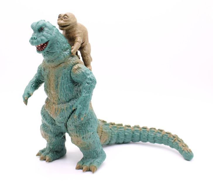 "Y-MSF 67"" Godzilla and Miniya 6"" scale Collectors Figure set"