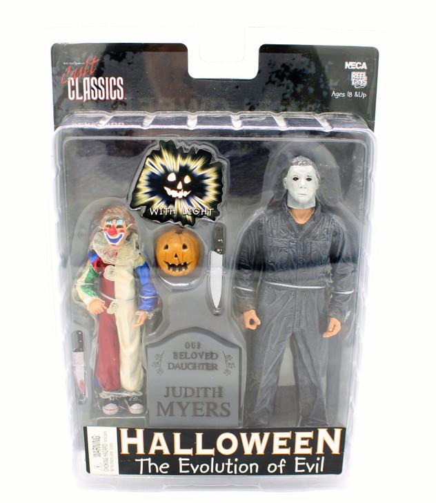 NECA Halloween the Evolution of Evil Action figure set