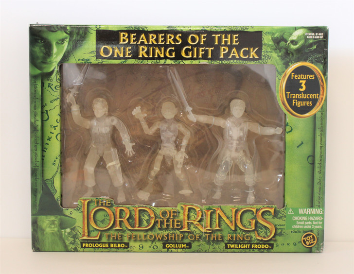"""ToyBiz Lord of the Rings """"Bearers of the One Ring"""" action figure Gift pack"""