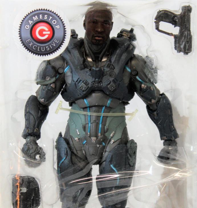 McFarlane HALO Gamestop Exclusive Spartan Locke action figure