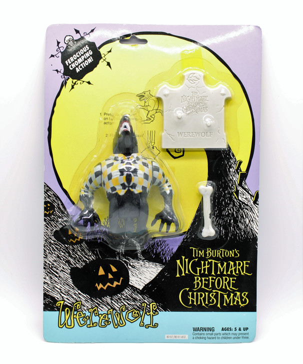 Hasbro Nightmare Before Christmas Werewolf action figure