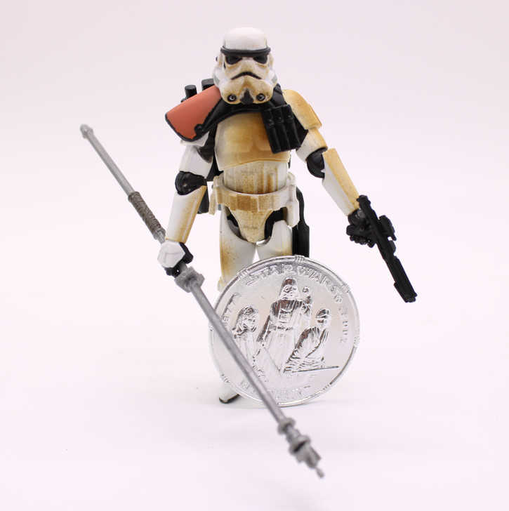 Hasbro Star Wars 30th Anniversary Sandtrooper Variant Action Figure