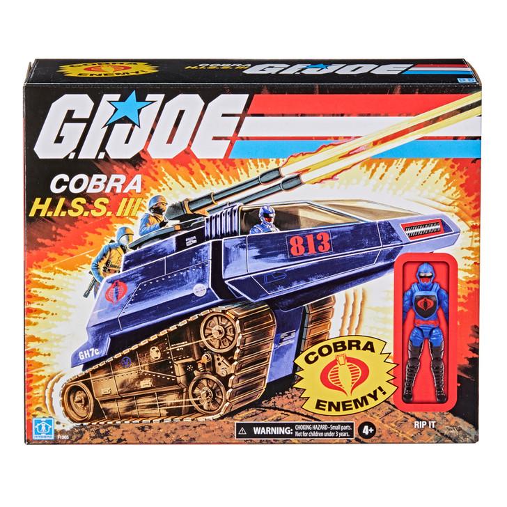Hasbro G.I. Joe Retro Cobra H.I.S.S. III Vehicle