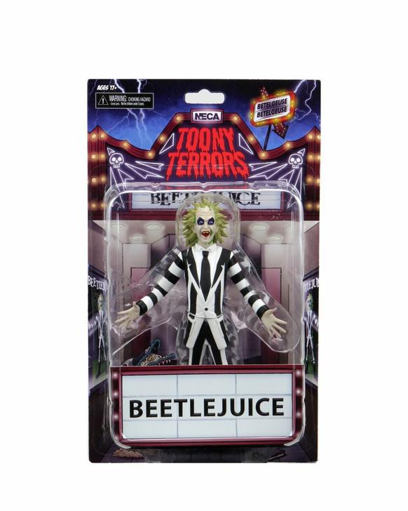 "NECA Toony Terrors - 6"" Scale Action Figure - Series 4 Beetlejuice"