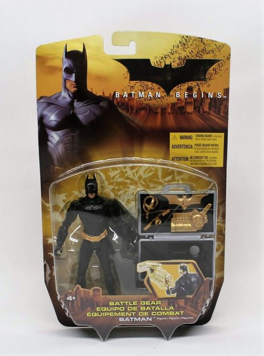 Mattel Batman Begins Battle Gear Batman Action Figure